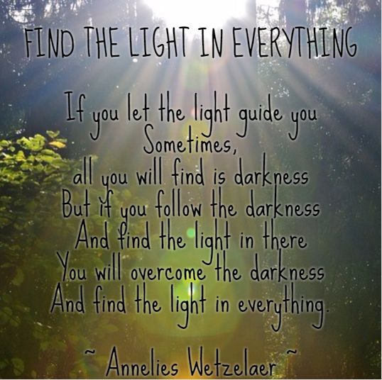 Find the light in everything
